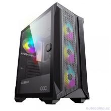 GameMax Brufen C1 Mid Tower Gaming Case Black