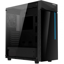 GIGABYTE C200 Glass ATX Gaming Case, Tinted Tempered Glass, RGB