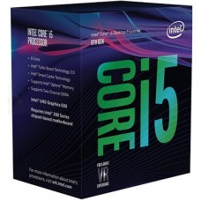 CPU Intel Core i5-8400  9M Cache, up to 4.0 GHz