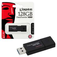 FLASH Kingston DataTraveller USB Flash DT100G3/128Gb