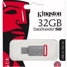 FLASH Kingston DataTraveller Usb Flash DT50/32Gb