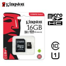 SD Card Kingston SDHC Class10 SDCS/16Gb