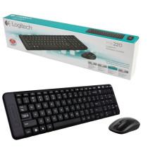 Keyboard Logitech Wireless Combo MK220