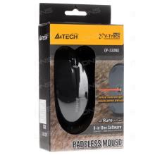 Mouse A4Tech OP 530NU, USB, Black