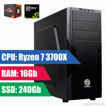 Oyun komputeri Thermaltake RYZEN 7 3700X-16GB,240SSD+1TB HDD-GTX 1650 4 GB