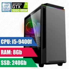 Oyun komputeri GAMEMAX Paladint i5-9400f-8GB,240SSD,GTX1660 Super 6GB