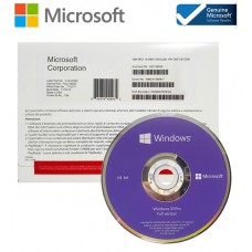 Microsoft Windows 10 Professional 64 Bit OEM DVD