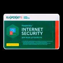 Antivirus Kaspersky Internet Security Renewal Card